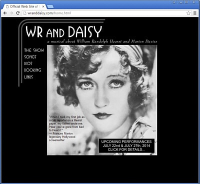 WR and Daisy | Original Musical