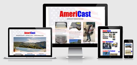 AmeriCast | Pre-Cast Generator Pads