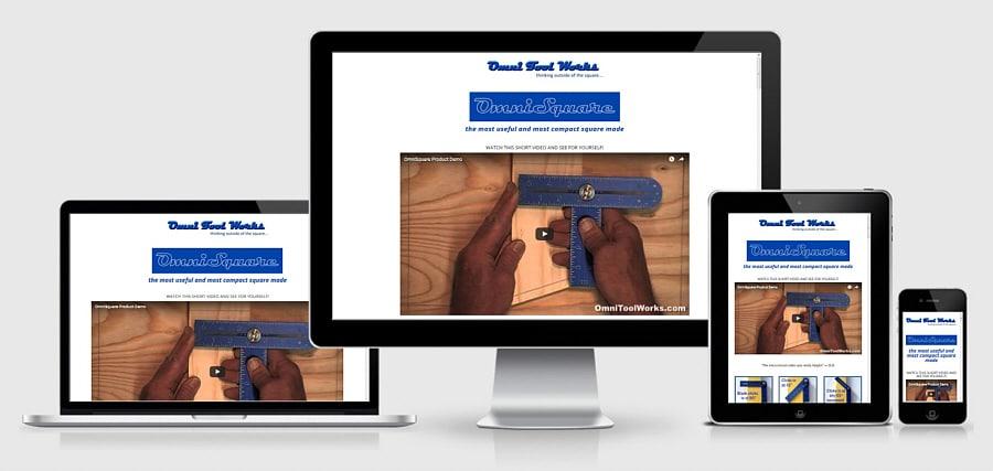 Theta Media Group Client Website Showcase | Omni Tool Works | OmniSquare Tool