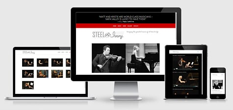 Steel and Ivory Music | Classical Duo